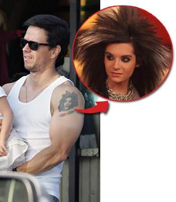 tatuaje actor. El Actor Marky Marks tiene un tatuaje en el brazo con la cara de Bill?
