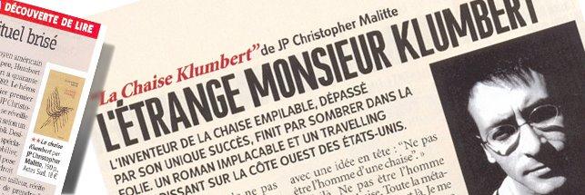 La Chaise KLUMBERT