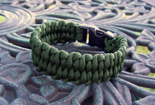 paracord bracelet weave instructions