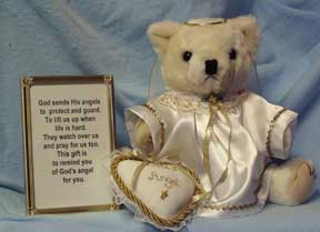 Kailie's Angel Teddy Bear Gift Set