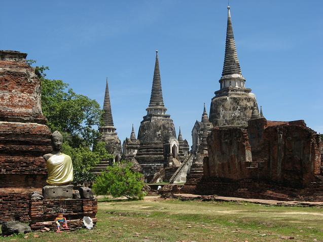 Ayutthaya City: Wat Phra Sri Sanphet, Ayutthaya
