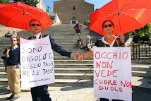 Sit-in dei Radicali contro l'ordinanza Alemanno