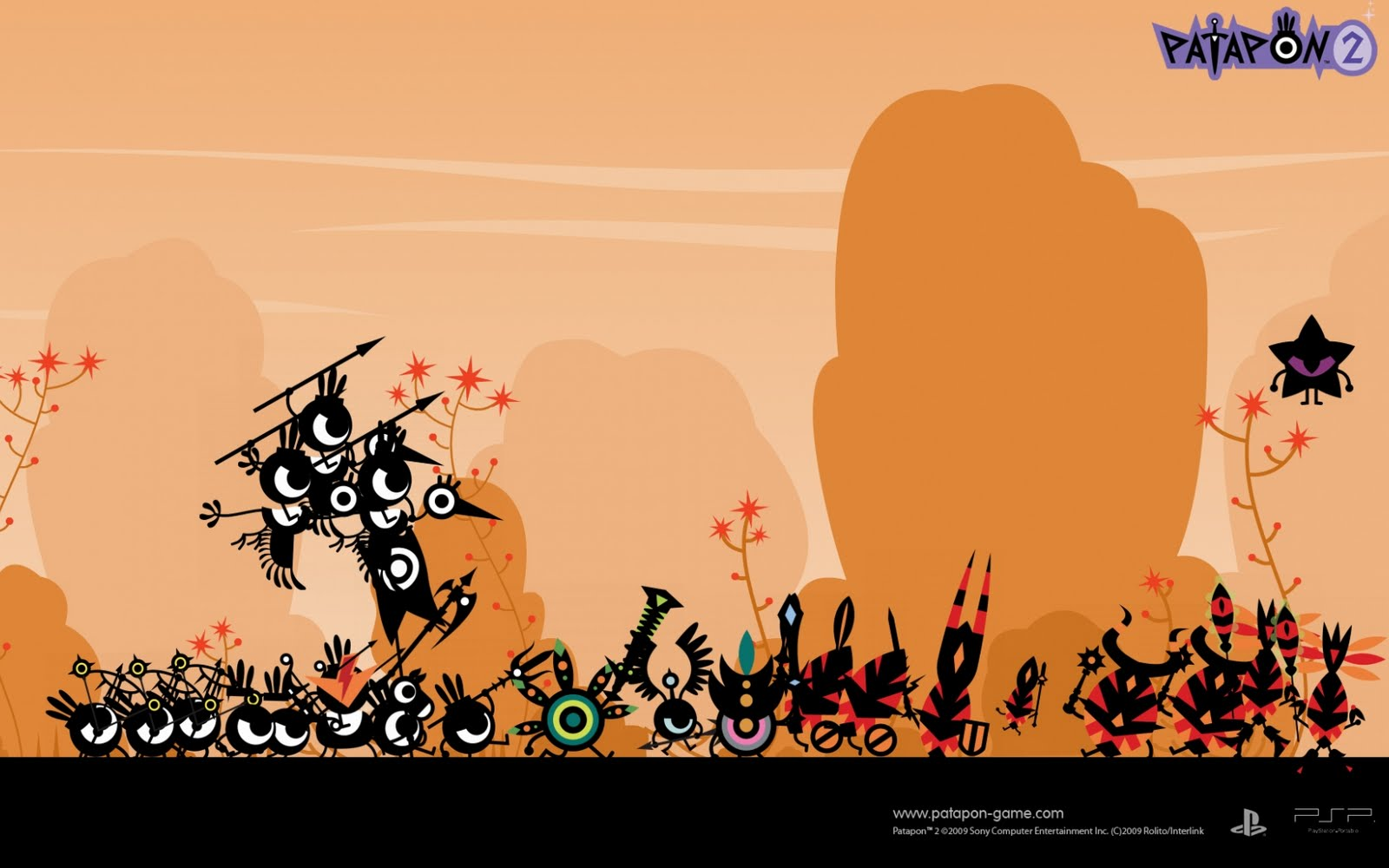 Patapon (ZOOM OUTTAA) Wallpaper_126874_1680_1050_US