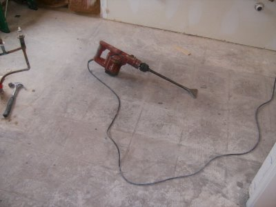 Breaking Out Floor Tile Tools | Confessions Of A Tile Setter