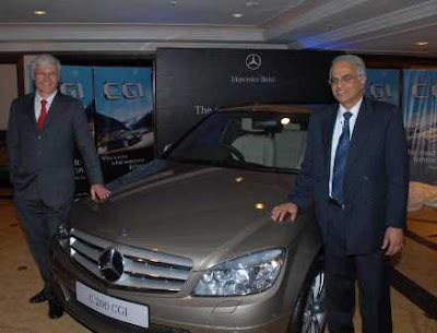 Mercedes-Benz CGI Engine & C200 Car India