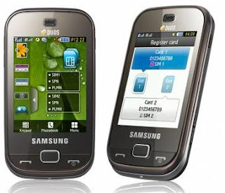 Samsung B5722 Dual SIM Mobile India