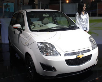 Chevrolet Spark. Chevrolet Spark Electric India