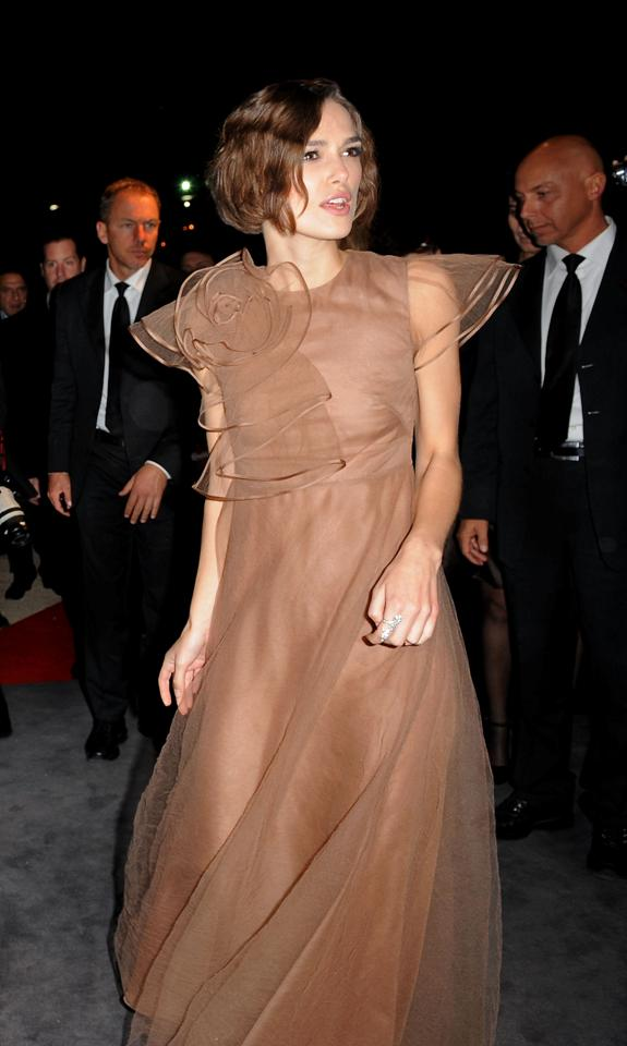 Keira 4 Valentino. Keira Knightley always looks alright.