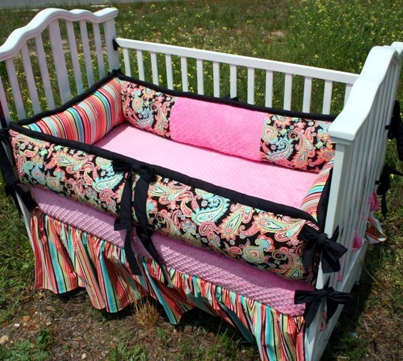 Cute Baby Girl Bedding : Norma Lee Good