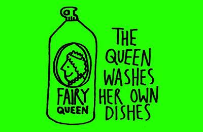 queen of england washes own dishes