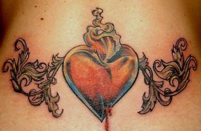 lower back tattoo designs with image sexy girls with lower back heart tattoo gallery picture. Black Bedroom Furniture Sets. Home Design Ideas