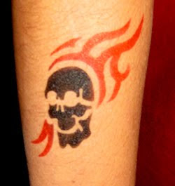 Tattoo Designs With Image Design Skull Tattoo And Flame Tattoo Picture 3
