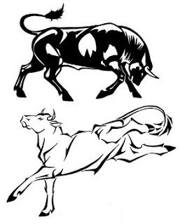 Amazing Art of Bull Tattoo Designs Picture 1