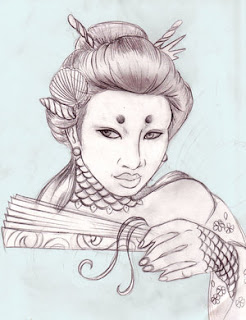 Gallery Tattoo Designs With Image Japanese Tattoos Especially Japanese Geisha Tattoo Picture 1