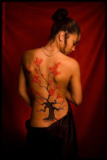Japanese Tattoos Especially Cherry Blossom Tattoo Designs With Image Most Popular Female Tattoos With Cherry Blossom Tattoo For The Back Body 1