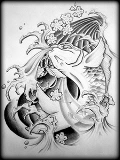 Amazing Art of Japanese Tattoos Especially Koi Fish Tattoo With Image Japanese Koi Fish Tattoo Designs Gallery Picture 3