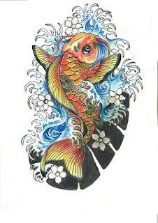 Nice Japanese Tattoos Koi Fish Tattoo33