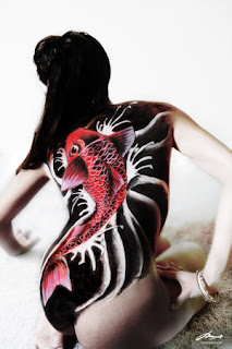 Amazing Art of Back Piece Japanese Tattoo Ideas With Koi Fish Tattoo Designs With Image Back Piece Japanese Koi Fish Tattoos For Female Tattoo Gallery 3