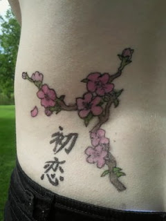 Lower Back Japanese Tattoo Ideas With Cherry Blossom Tattoo Designs With Image Lower Back Japanese Cherry Blossom Tattoos For Feminine Tattoo Gallery 4