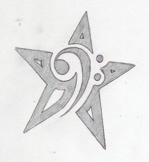 Nice Star Tattoos Design With Image All Star Tattoo Designs Picture 8