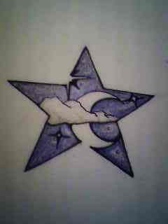Nice Star Tattoos Design With Image All Star Tattoo Designs Picture 6