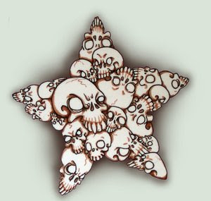 Nice Star Tattoos With Image Tattoo Designs Especially Star Skull Tattoo Picture 10