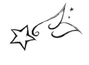 Nice Star Tattoos With Image Tattoo Designs Especially Wings Star Tattoo Picture 5