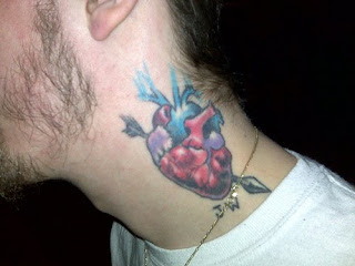 Heart Tattoos With Image Male Tattoo With Heart Tattoo Designs On The Body Picture 7