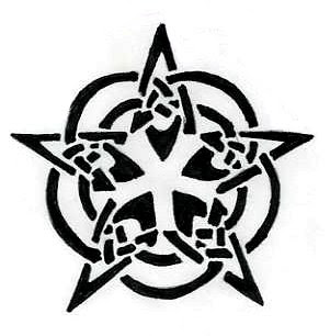 Cool Star Tattoo Designs Gallery 4
