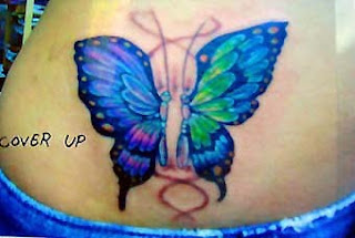 Nice Butterfly Tattoos With Image Butterfly Tattoo Designs For Female Butterfly Lower Back Tattoo Picture 8