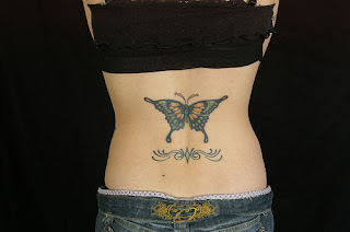 Nice Butterfly Tattoos With Image Butterfly Tattoo Designs For Female Lower Back Butterfly Tattoo Picture 3