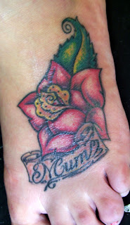 Amazing Flower Tattoos With Image Flower Tattoo Designs For Female Tattoo With Foot Flower Tattoo Picture 2