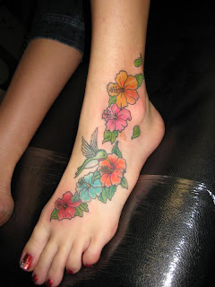 Amazing Flower Tattoos With Image Flower Tattoo Designs For Female Tattoo With Foot Flower Tattoo Picture 1