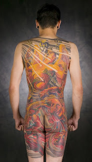 Backpiece Tattoos