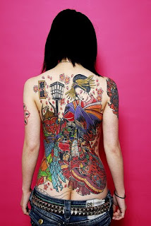 Japanese Tattoos With Image Japanese Geisha Tattoo Designs For Female Tattoo With Japanese Geisha Tattoo On The Back Body Picture 2