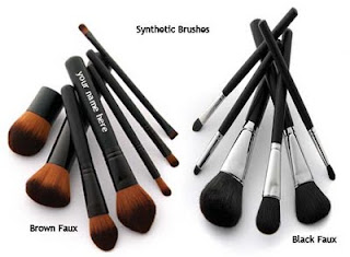synthetic brushes cruelty free