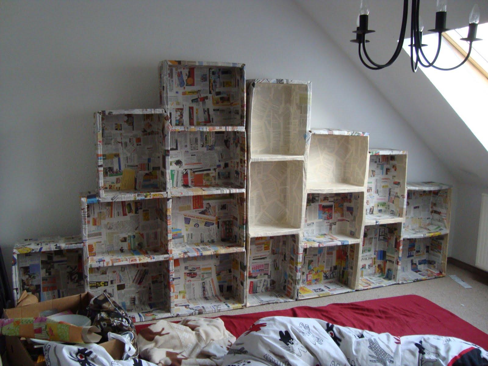 pappmache und mehr. Black Bedroom Furniture Sets. Home Design Ideas