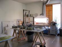 Studio Visit by Joanne Mattera (click image)