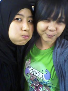 me & amalina  ^^