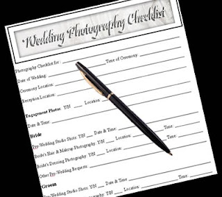 wedding day checklist with black pen, copyright J. Gracey Stinson, all rights reserved