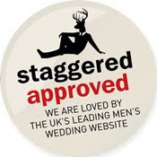 As Featured by Staggered - The Groom's Website