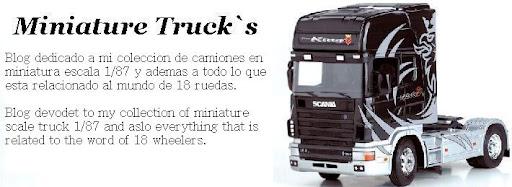 miniature trucks