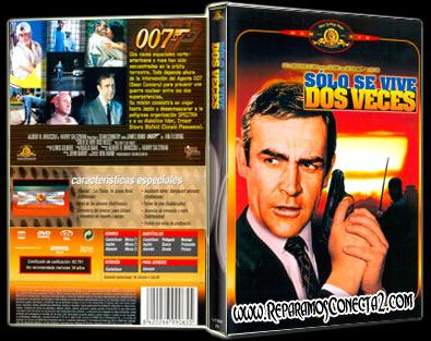 007. Solo se vive 2 veces 1967 | Carátula | cine clásico
