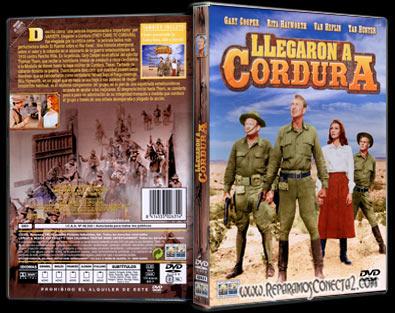 Llegaron a Cordura [1959] español, cine clasico