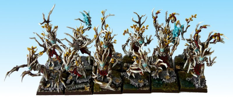 Skavenblight's Wood Elves Driady4