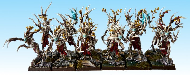 Skavenblight's Wood Elves Driady3