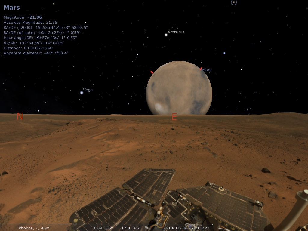 phobos from mars surface -#main