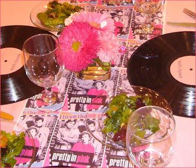Maggie S Dinner Dates Pretty In Pink Eighties Dinner Party