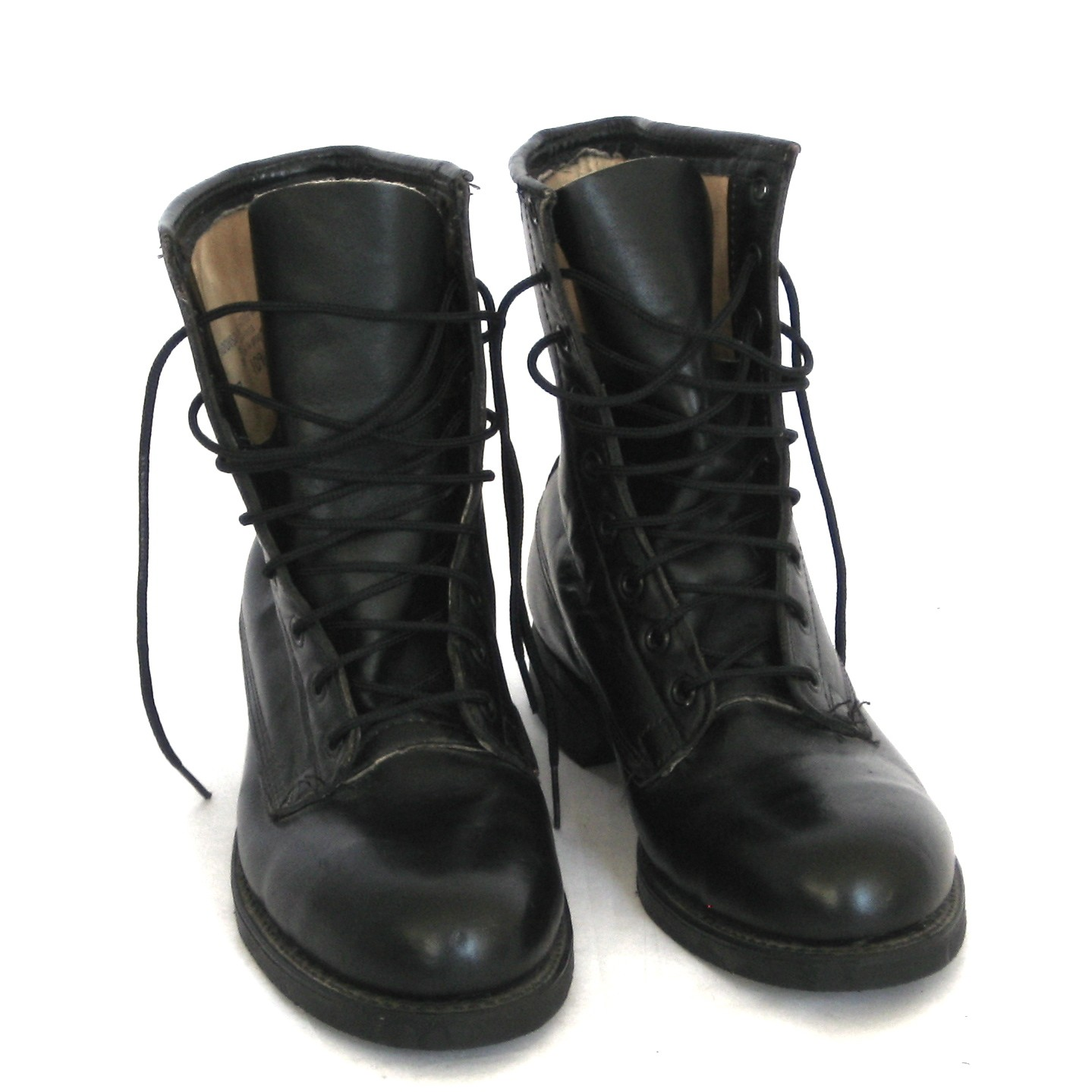 Trade Brigade: Addison Shoe Company//Combat Boots//Black Leather ...