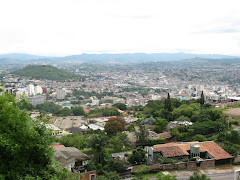 View of Tegucigalpa-the capital